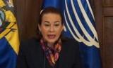 Menteri Luar Negeri Ekuador Maria Fernanda Espinosa.