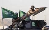Militer Arab Saudi siap melawan pemberontak Houthi.