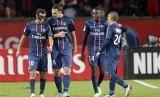 Para pemain Paris Saint-Germain (PSG).