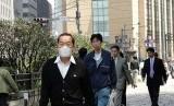 Pejalan kaki di Tokyo, (Ilustrasi)