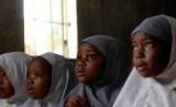 Pelajar muslim Nigeria.