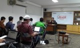 Pelatihan akuntansi bagi pengurus masjid yang diselenggarakan oleh Republika, Sabtu (18/2).