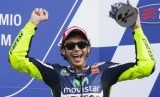 Pembalap  Valentino Rossi.