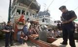 Penangkapan kapal dan nelayan asing (ilustrasi)