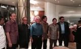 Petinggi KMP ketika bertemu di Bakrie Tower pada Kamis (29/1) malam WIB.