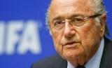 Presiden FIFA, Sepp Blatter.