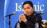 Presiden Inter Milan, Erick Thohir saat International Islamic Conference on Media di Jakarta, Rabu (4/12).