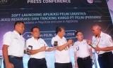 PT Pelni memperkenalkan aplikasi layanan pengiriman kargo atau kontainer kepada publik.