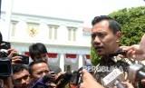 Putra Presiden ke-6 RI, Agus Harimurti Yudhoyono mendatangi Istana Negara, Jakarta, Kamis (10/8).