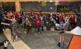 Robocoach melatih senam lansia di Singapura