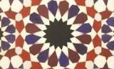 Salah satu karya geometri Zahra Hussain