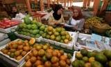 Salah satu sudut pasar tradisional (ilustrasi)