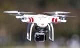 Sebuah drone Phantom DJI.