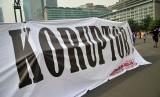 Sejumlah aktivis berkampanye antikorupsi (ilustrasi)