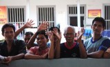Sejumlah narapidana di Lapas (ilustrasi).