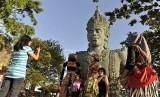 Garuda Wisnu Kencana statue, one of tourist destinations in  Bali (illustration)