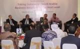 Silaturahim dan Rapat Pleno Pengurus ISABC di Hotel d'Arcici Jakarta, Senin (17/7).