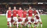 Skuat Arsenal ketika menghadapi BATE Borisov, Jumat (8/12) dini hari WIB.