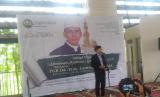 Suasana Tabligh Akbar oleh TGB. Dr. H. M. Zainul Majdi di Masjid Baitul Qur'an, Tangerang Selatan, Sabtu (13/1). Tema kegiatan kali ini adalah Membangun Optimisme Umat di Tahun 2018.