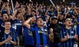 Suporter Inter Milan di Cina.