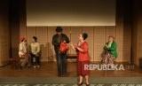 Teater Gandrik tampilkan lakon Pensiunan di Auditorium Galeri Indonesia Kaya.