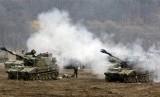 Tentara Korea Selatan bersiap di tengah memanasnya Semenanjung Korea.