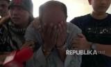 Tersangka penembakan dokter Letty, dokter Helmi saat tiba di Mapolda Metro Jaya, Jumat (10/11).
