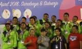 Tim polo air Jawa Timur.
