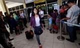 TKI tiba di Bandara Internasional Adisutjipto, Yogyakarta