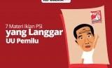 Iklan PSI yang Disebut Melanggar UU Pemilu