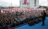 Turkey's Prime Minister Tayyip Erdogan addresses his supporters during an election rally of his ruling Ak Party (AKP) in Malatya March 6, 2014 file photo.