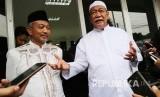 Deddy Mizwar (kanan) dan Ketua DPW PKS Jabar Ahmad Syaikhu