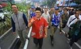 Wakil Wali Kota Bandung Oded M Danial (berpeci)