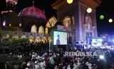 Warga menghadiri pembukaan Pesona Khazanah Ramadhan 2017 di Islamic Center, Mataram, Lombok, Nusa Tenggara Barat (Ilustrasi)