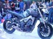 Naked bike Yamaha MT-09.