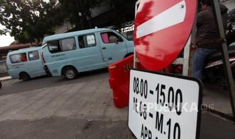 Polisi Sita Angkot tak Layak Operasi