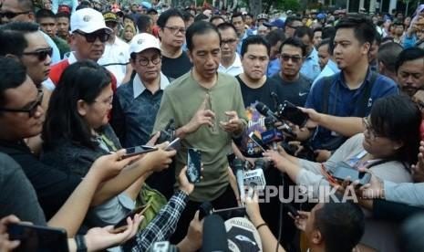 Jokowi: Jangan Dipikir Saya Sama Kayak Robot