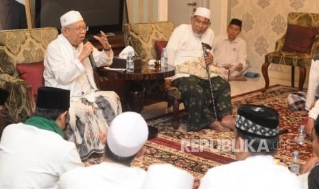 Kiai Ma'ruf: Buta dan Tuli tak Singgung Oposisi
