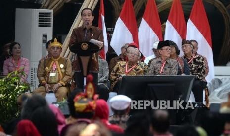 Jokowi Ingin Indonesia Berbudaya dalam Toleransi