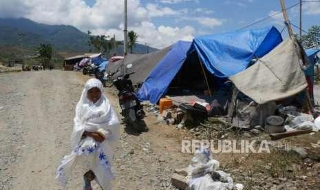 Pengungsi Gempa Sulteng Butuh 18 Ribu Tenda