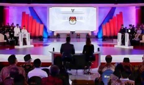 Debat Perdana Capres-Cawapres Minim Serangan