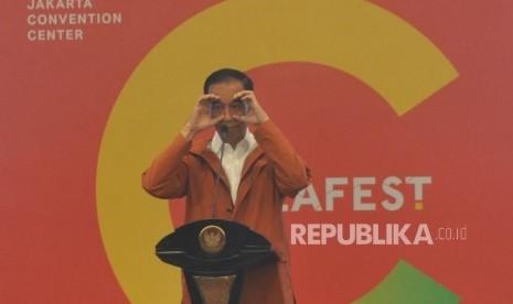 Saat Jokowi Tantang Anak Muda Berinovasi