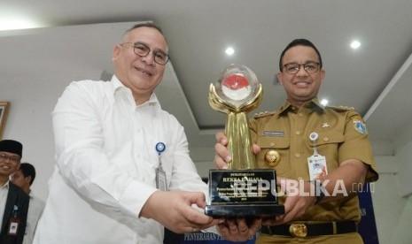 Pemprov DKI Jakarta Raih Penghargaan Reksa Bahasa 2018