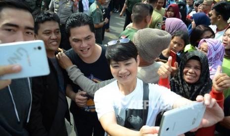 Erick Hadiri Deklarasi Perempuan Indonesia untuk Jokowi