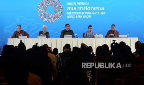 Pemerintah Klaim Pertemuan IMF-WB Hasilkan Rp 5,5 Triliun