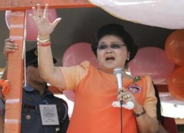 Imelda Marcos Dinyatakan Bersalah atas Kasus Korupsi