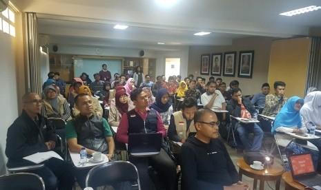 Peserta Pelatihan Jurnalistik: Republika Panutannya