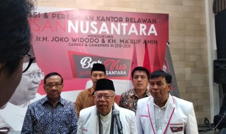 Kiai Ma'ruf Nilai Jokowi tak Pernah Melakukan Pencitraan