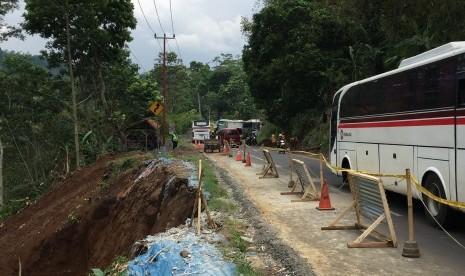 Perbaikan Jalan Lingkar Gentong Dirampungkan Akhir Tahun