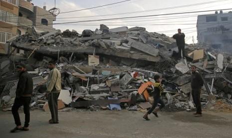 Murid Palestina Masih Ketakutan Sekolah
